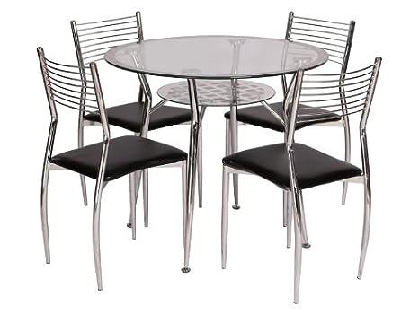 Tavolo Da Pranzo Rotondo : Jadella tavolo da cucina mulan tavolo da pranzo rotondo vetro