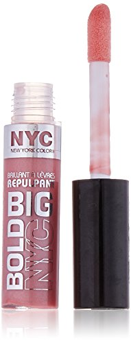 N.Y.C. New York Color Big Bold Plumping and Shine Lip Gloss,