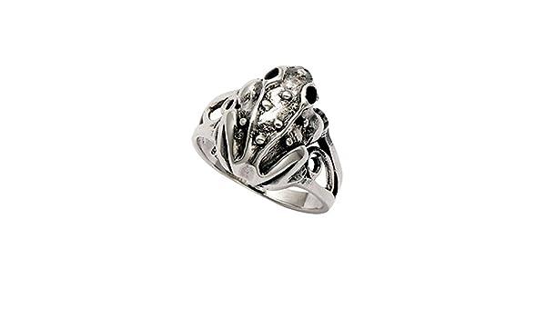 Wildthings Ltd Mens Sterling Silver Wave Ring