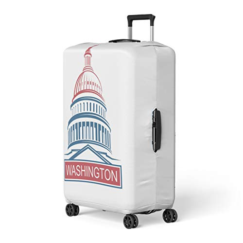 Pinbeam Luggage Cover Capital United States Capitol