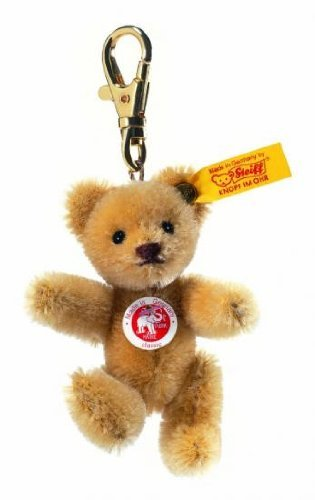 [Steiff] Steiff stuffed teddy bear key ring 8cm 039089 [parallel import] (Ring Steiff Key)