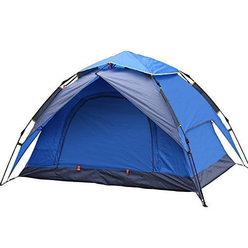Outdoor /2 People/Camping Tent,Double Layer/Double Automatic Tent, Pop up Camp Tent, Beach Tent