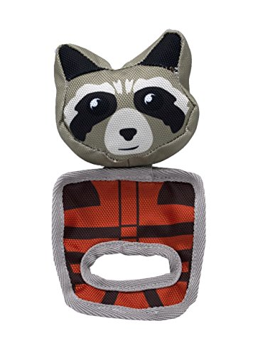 Marvel Comics Rocket Raccoon Pull And Play Oxford Toy For Dogs | Guardians of the Galaxy Toys For All Dogs and Puppies ()