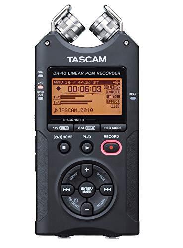 Tascam DR-40 4-Track Portable Digital Audio Recorder by Tascam (Image #4)
