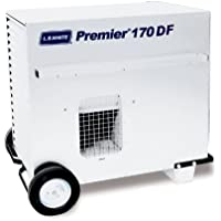 L.B. White CS170 Premier 170DF Portable Forced Air Ductable Dual Fuel Construction Heater, 170,000 Btuh