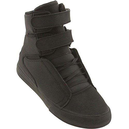 Supra Society Black-Black Men's Sneakers(S34037) (4 D(M) ...