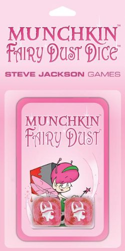Munchkin Fairy Dust Dice Card Game (Dust Game)