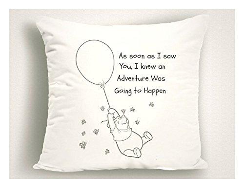 Harley Davidson Baby Bedding (Winnie The Pooh Nursery Decor, Nursery Pillows, Baby Girl Nursery, Baby Boy Nursery, Baby Gift, Nursery Bedding, Girl Nursery, Boy Nursery, 16x16 inch, gift)