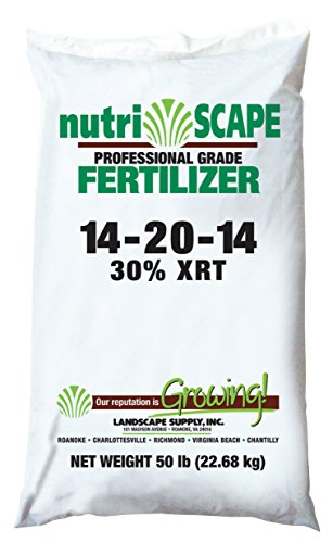 NutriScape Starter Fertilizer 14-20-14 XRT Time Release, 50 Pound Bag
