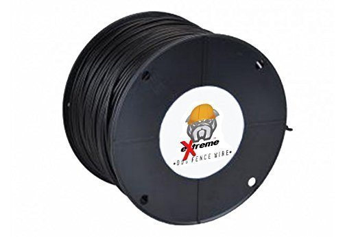 16AWG / Gauge Professional Grade eXtreme Dog Fence Solid Core Dog Fence Wire (1000' - 2x 500' Spool) by Extreme Dog Fence (Image #1)