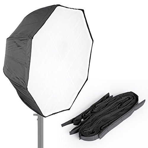 """Neewer Photo Studio 31""""/80cm Octagon Umbrella Type Speedlite Softbox with Grid for Portraits,Product Photography and Video Shooting"""