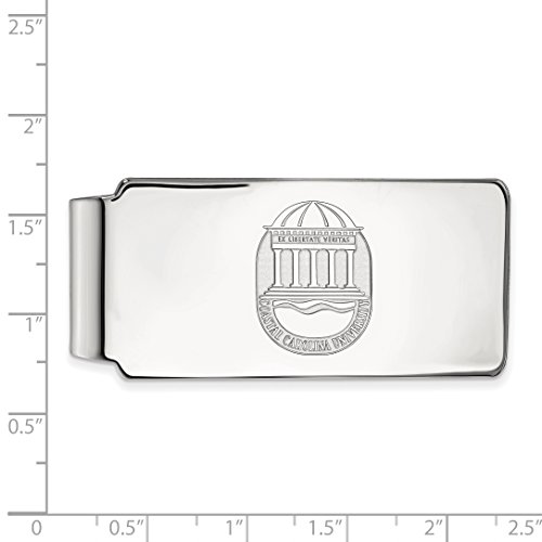 Official Silver CCU Coastal LogoArt Licensed Money Collegiate Clip Crest Sterling University Carolina q6w1q