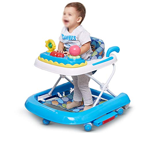 Amazon.com: Baby Walkers, 6-18 Months Baby Foldable Anti ...