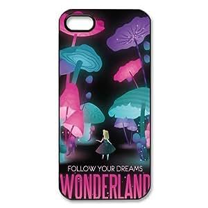Customized Alice in Wonderland Hard Case for Apple IPhone 5/5S