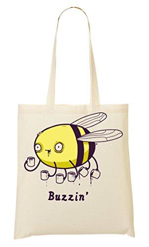 CP Bee Is Buzzin Bolso De Mano Bolsa De La Compra