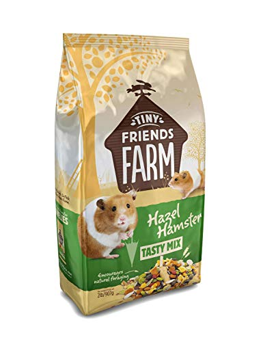 Supreme Tiny Friends Farm Hazel Hamster Tasty Mix 2lbs (Best Hamster Food For Syrian)