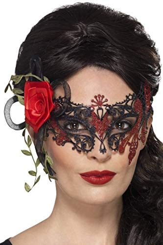 Day Of The Dead Metal Filigree Eyemask -