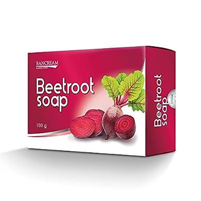 Bancream Beetroot Whitening Soap for Immune Function & Skin Health 80g.