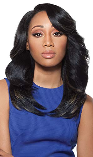 Outre Synthetic Hair Full Cap Quick Weave Complete Cap Brenda (1B)