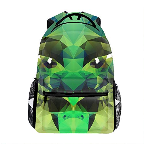 Student Backpack School Bag Abstract Polygonal Tiger for sale  Delivered anywhere in USA