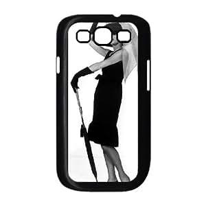 Audrey Hepburn Samsung Galaxy S3 9 Cell Phone Case Black gife pp001_9303094