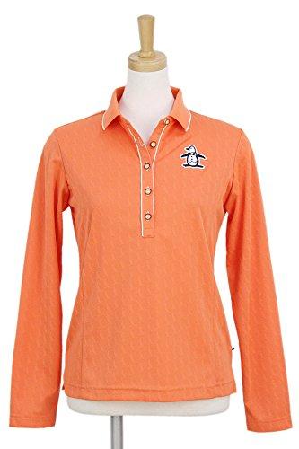 長袖ポロシャツ レディース マンシングウェア Munsingwear 2018 春夏 ゴルフウェア M(M) オレンジ(OR00) mgwljb01