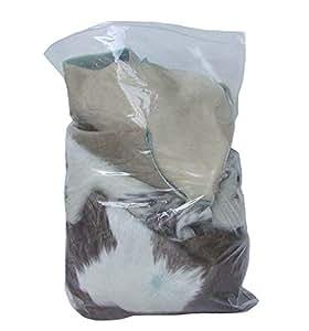 Ensuite - Retales de cuero para manualidades (1 kilo, piel vacuna)