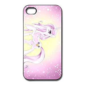 Little Pony Rainbow Pony Bumper Case Cover For IPhone 4/4s - Awesome Shell