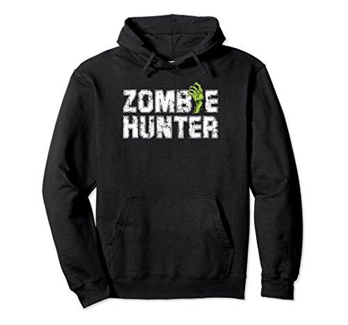 Halloween Zombie Hunter Hoodie Vampire Costume