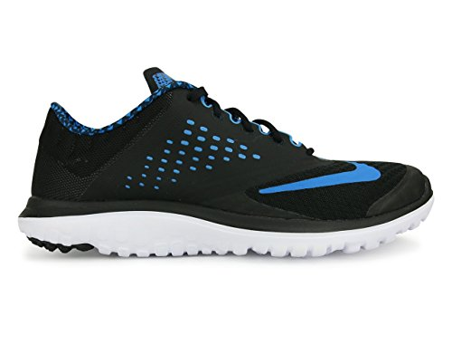 wiki cheap price 100% guaranteed cheap online NIKE Men's FS Lite 2 Running-Shoes Black/Blue quality from china cheap free shipping low price fee shipping 26KSi1b
