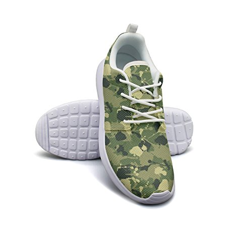 ERSER Rustoleum Camouflage Sports Running Shoes For Men Outdoor Sports Shoes 8 (All Terrain Digital Camo)