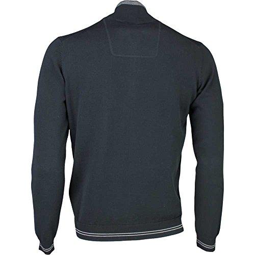 Hugo Boss, Pullover, Herren, langarm, ZIME, Schwarz, Size: XL