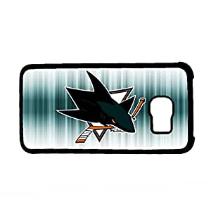 Generic Design Nhl San Jose Sharks Logo For Samsung S6 Only For Girl Shells Plastics