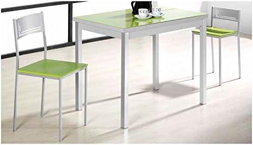 Amuebla 813. Mesa DE Cocina DE 100X 60 CM. Extensible DE ALAS ...