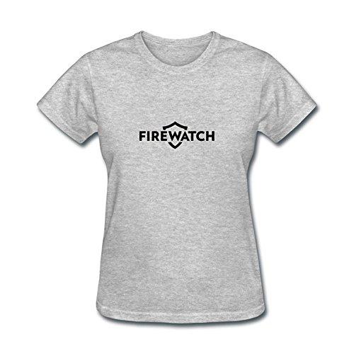 JXK Women's Firewatch Adventure Game Logo T-shirt Size XXL ()