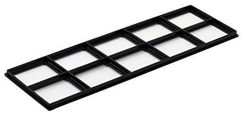 """Decor Grates FRP412 Pristene Air Filter Retainer For Decor Grates Registers, 4"""" By 12"""", 4 Pack"""