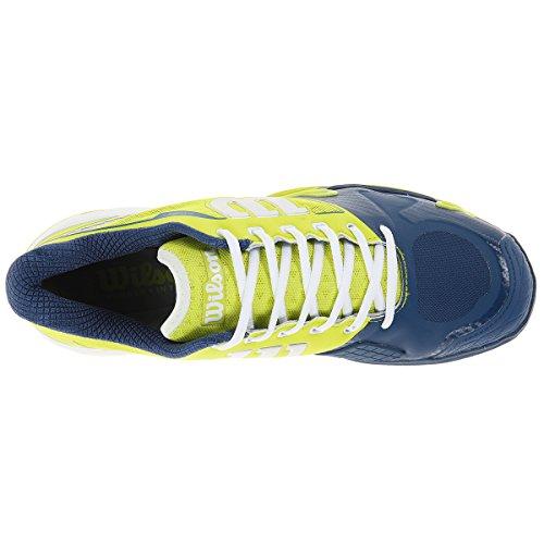 Tennis verde 2 Scarpe Da Donna Court Clay Rush Multicolore Pro Wilson lima 0 bianco 8ZYEn