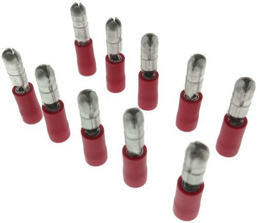 10x Circular Connectors 4 mm Crimp Connector Crimp Cable Terminals Connector Japan Sleeve: Electronics