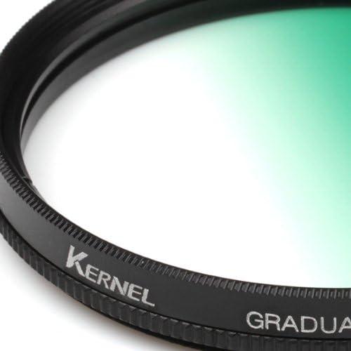 Kernel 62mm Gradual Green Lens Filter