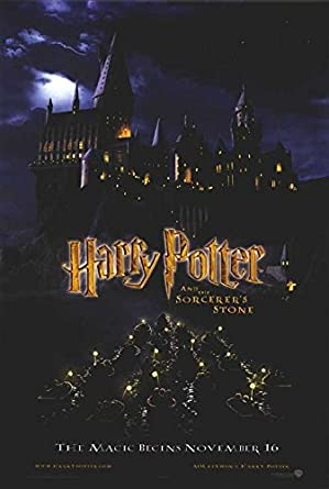 Harry Potter And The Sorcerers Stone Authentic Original 27 X 40