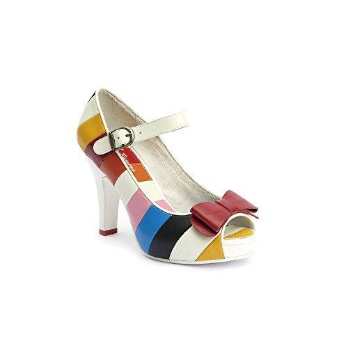 Lola Ramona - Zapatos de vestir para mujer Blanco blanco