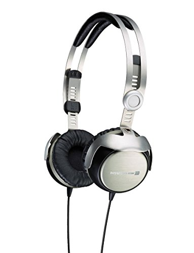 Beyerdynamic T51i Portable Headphones, Silver/Black by beyerdynamic