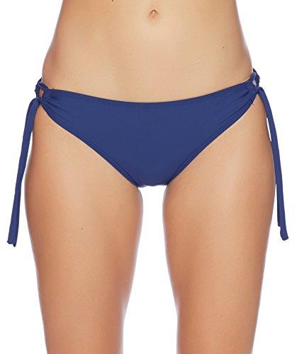 Next Women's Tubular Tunnel Swimsuit Bikini Bottom, Good Karma Navy, Small