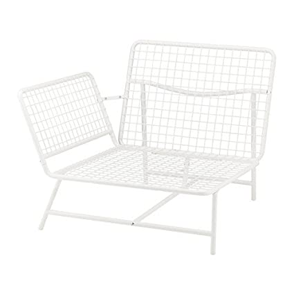 Superbe IKEA Corner Chair, White 1228.111714.1022