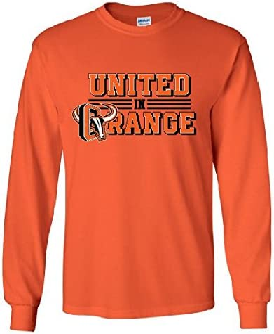 united in orange t shirts