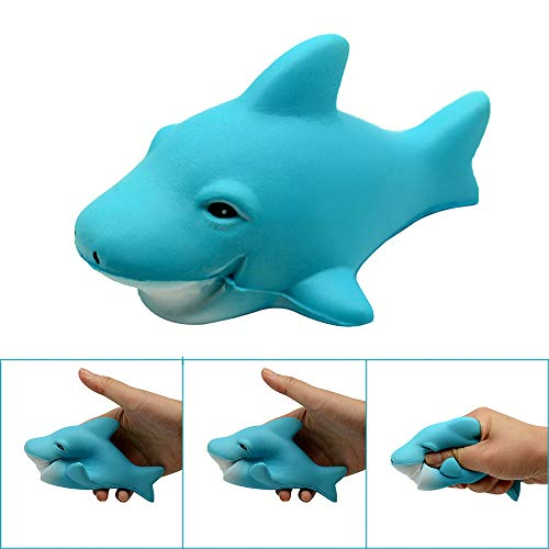 Euone Squeeze Toys Clearance, Shark Stress Reliever Scented Super Slow Rising Kids Toy -