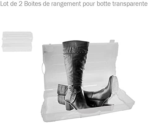 Caja organizadora para botas para mujer – Juego de 2: Amazon.es: Hogar