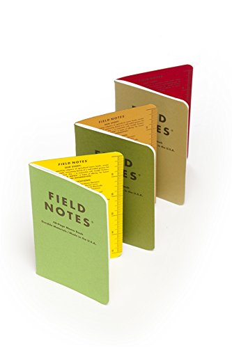 Field Notes Shenandoah Special Edition Graph Memo Books, 3-Pack (3.5x5.5-Inch) Fall 2015