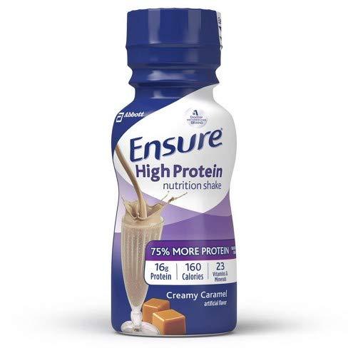 Enusure High Protein, Creamy Caramel, 6 Bottles, Total Weight 48 fl oz
