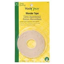 Dritz Quilting Washaway Wonder Tape, 1/4 by 25-Yard